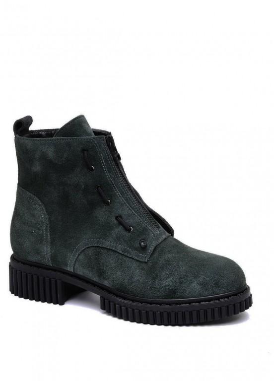 032902 Замшевые ботинки