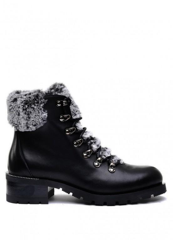 014811 Черные ботинки