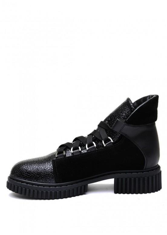 033002 Кожаные ботинки