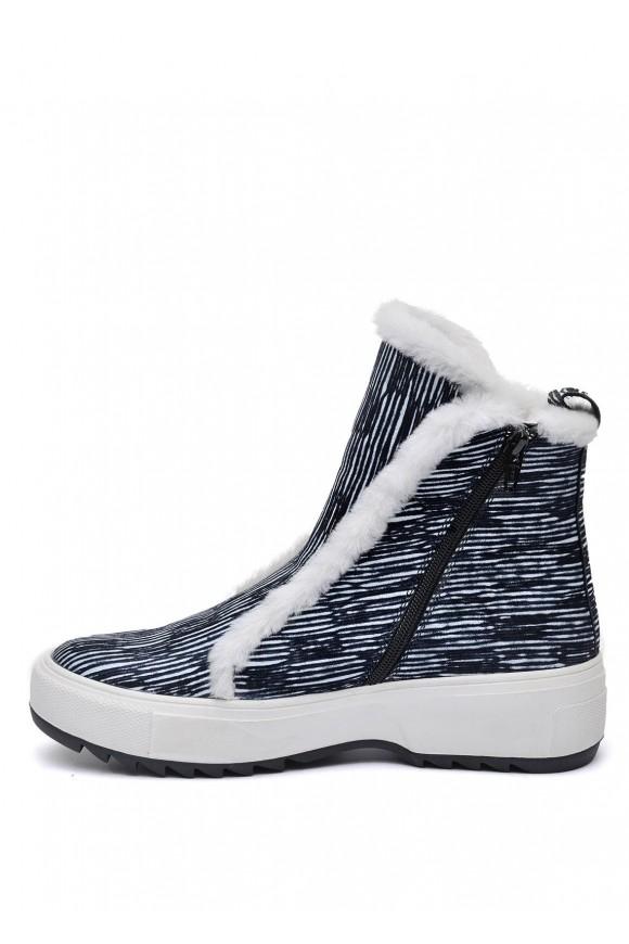 076011 Ботинки на натуральном меху