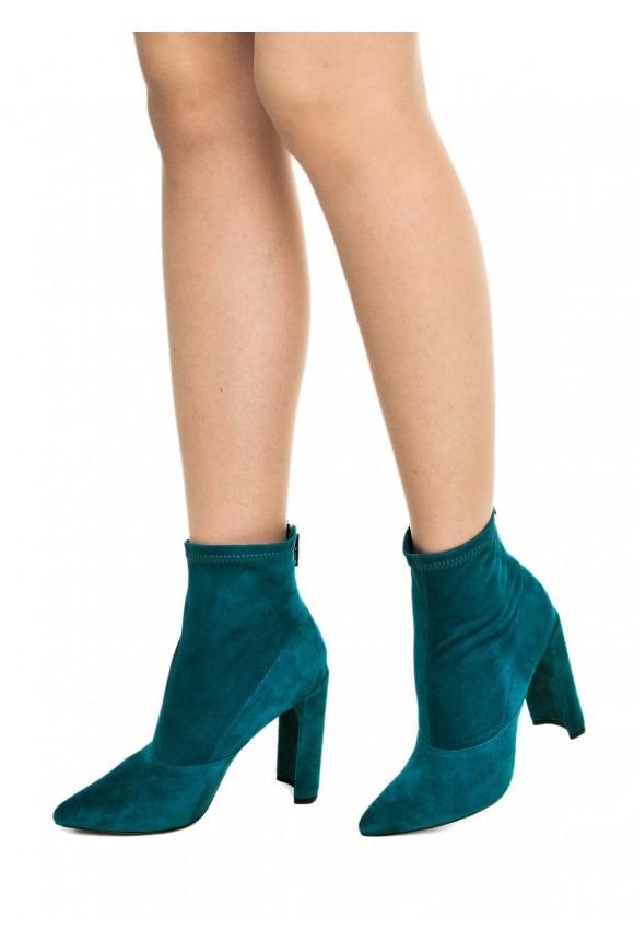 Бирюзовые Ботинки-Носки