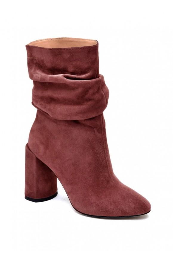 893144 Замшевые ботинки на широкую ногу