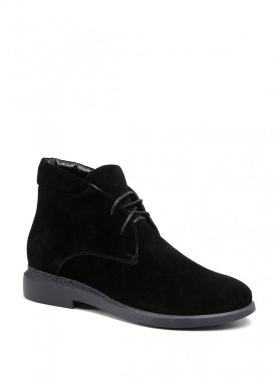 271131 Черные замшевые ботинки
