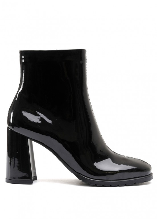 337083 Ботинки из лаковой искусственной кожи