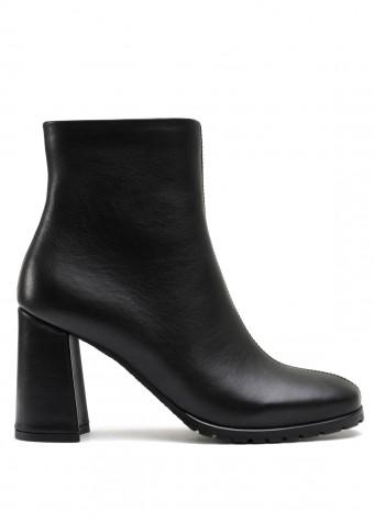337003 Чорні шкіряні черевики