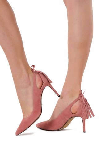721621 Замшеві туфлі