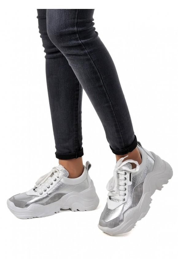 """Кроссовки Белые Кожаные """"Ugly shoes"""""""