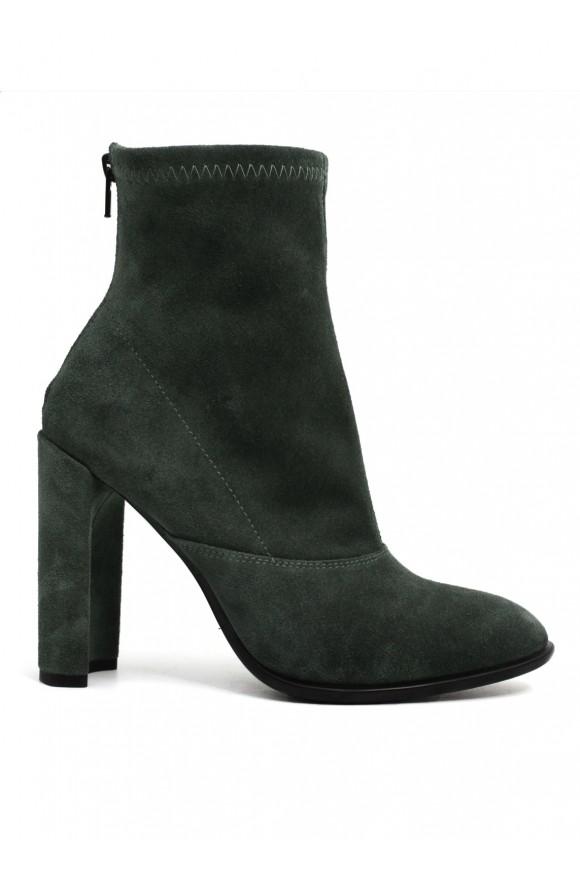 993514 Сірі замшеві черевики