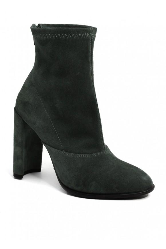 993514 Серые замшевые ботинки