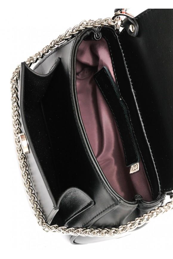 10232 Кожаная мини-сумка