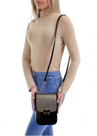 10260 Стильная кожаная сумка