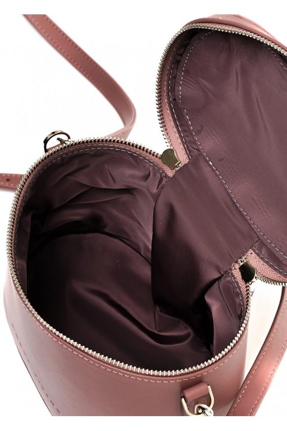 10341  Бежевая кожаная сумка
