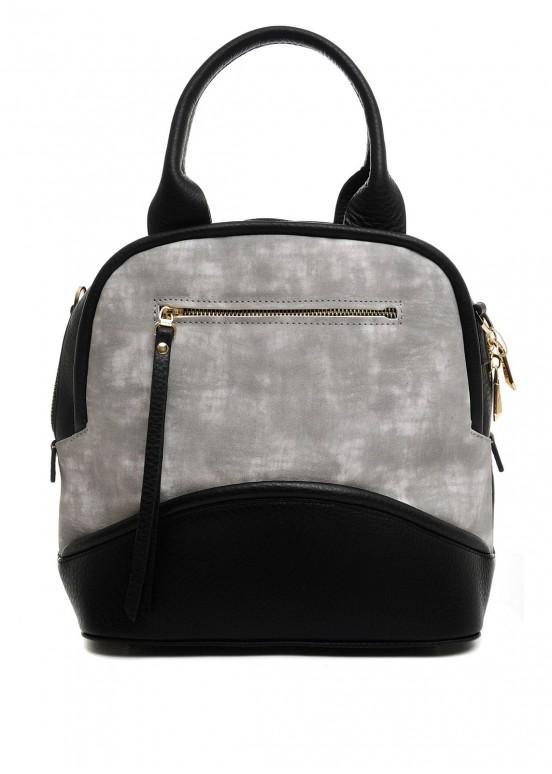 10380 Стильная кожаная сумка