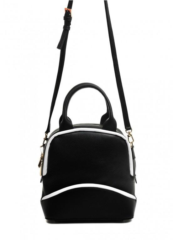 10381 Черная кожаная сумка