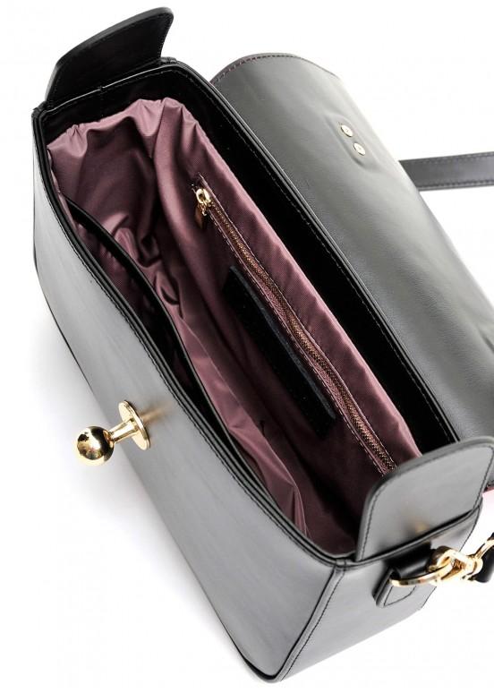 10390 Вечерняя кожаная сумка