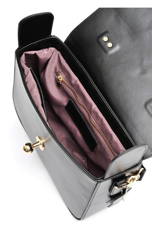 10391 Вечерняя кожаная сумка
