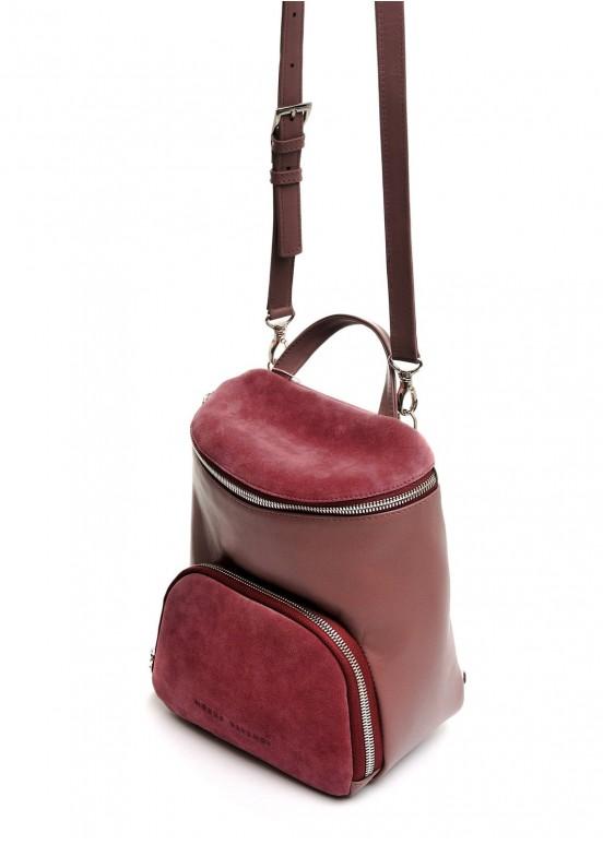 10450 Бежевый кожаный рюкзак