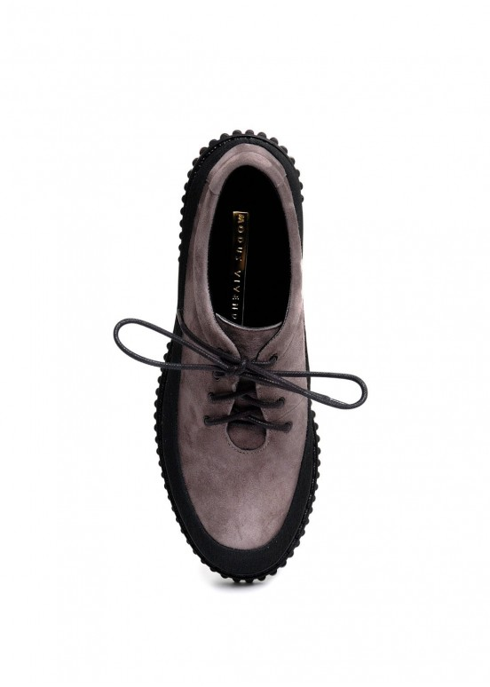 033912 Замшевые туфли