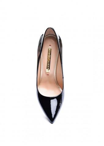 158041 Чорні Лакові Туфлі