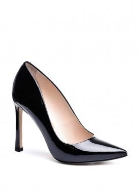 158041 Черные лаковые туфли