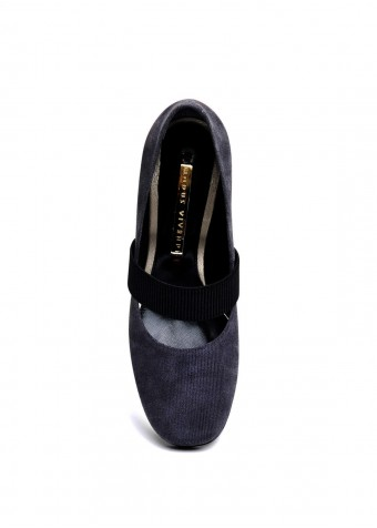 631912 Серые замшевые туфли