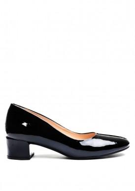 960381 Черные лаковые туфли