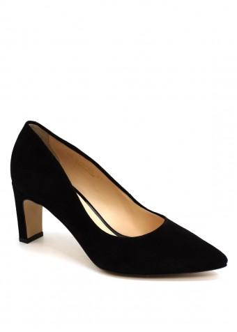 973755 Черные замшевые туфли