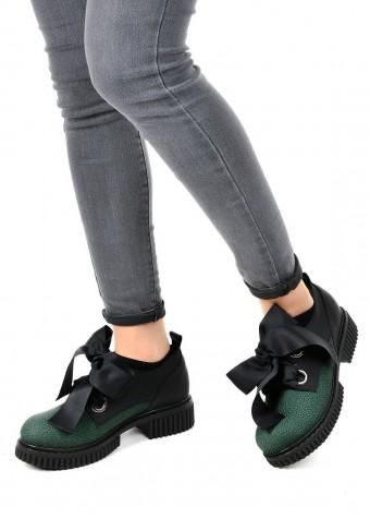 034132 Кожаные туфли