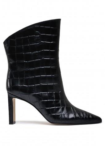 146121 Зручні черевики на стійкому каблуці