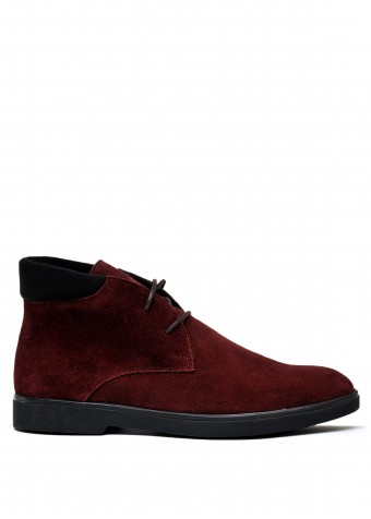 505923 Замшеві черевики низький хід