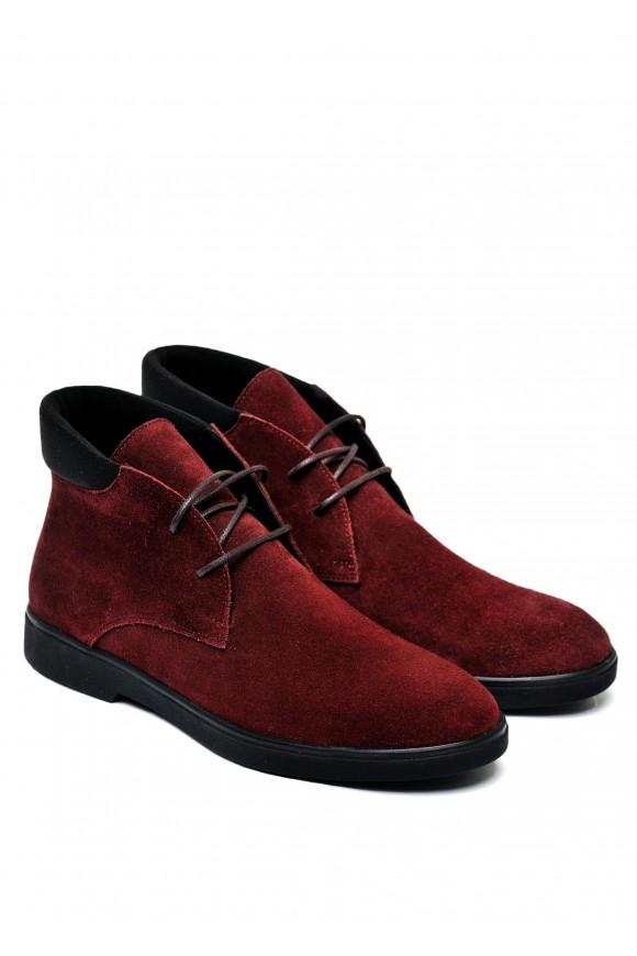 505923 Замшевые ботинки низкий ход