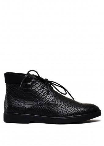 505943 Шкіряні черевики на шнурках