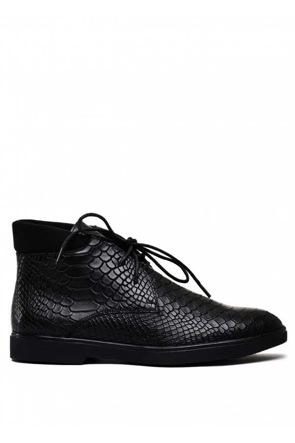 505943 Кожаные ботинки на шнурках