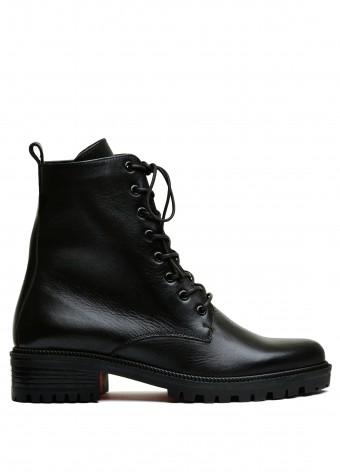 533316 Шкіряні зимові черевики