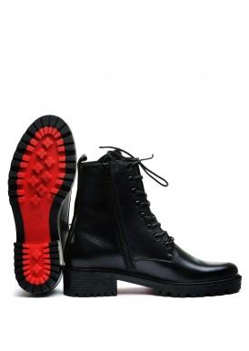 533316 Кожаные зимние ботинки