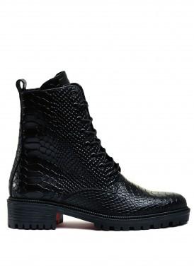 533336 Удобные ботинки на шнурка