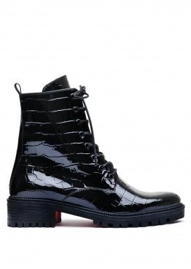 533346 Лакові черевики на низькому ході