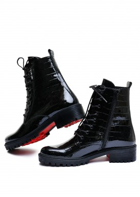 533346 Лаковые ботинки на низком ходу