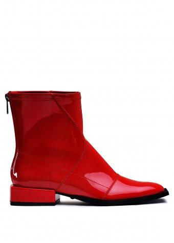 888451 Червоні лакові черевики