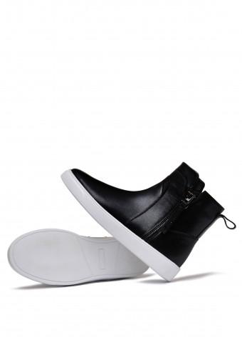 911703 Спортивні шкіряні черевики