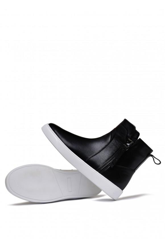 911703 Спотривные кожаные ботинки