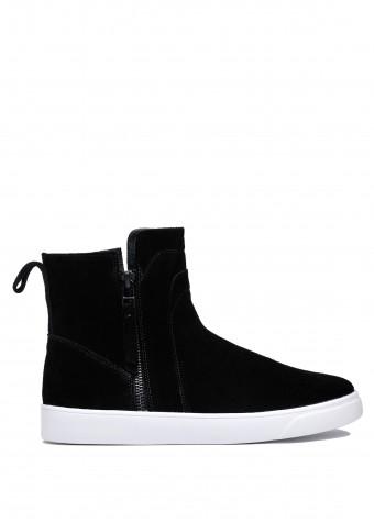 911713 Замшеві спортивні черевики