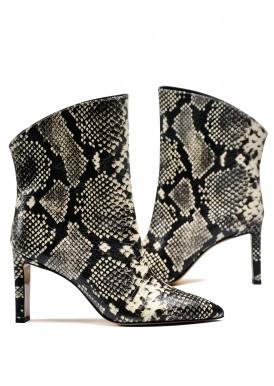 146101 Удобные ботинки на среднем каблуке
