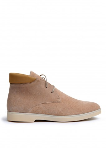 505953 Замшеві черевики низький хід