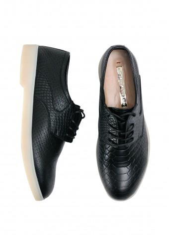 505721 Зручні туфлі з натуральної шкіри