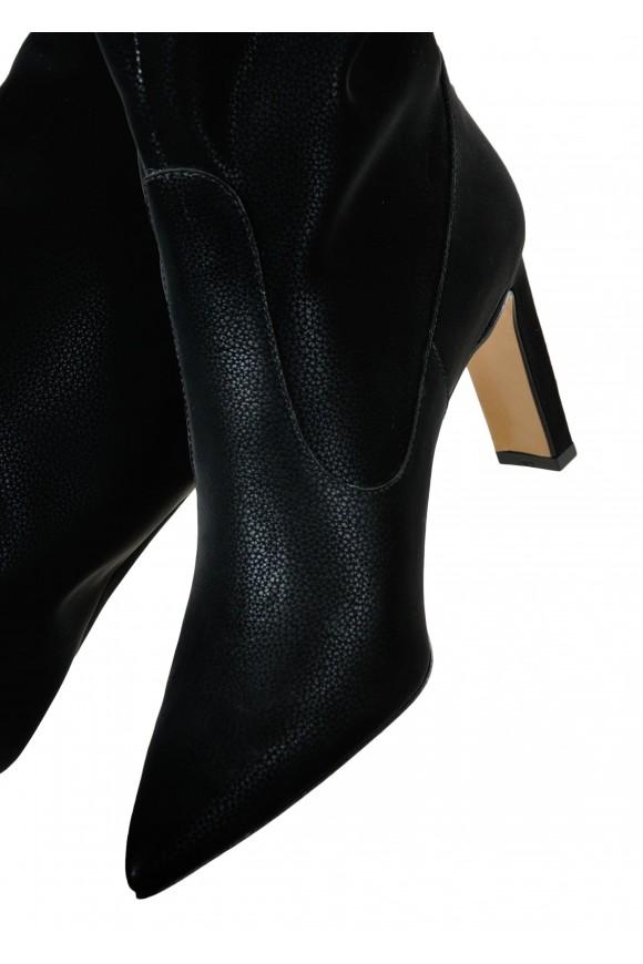 146041 Элегантные сапоги на устойчивом каблуке