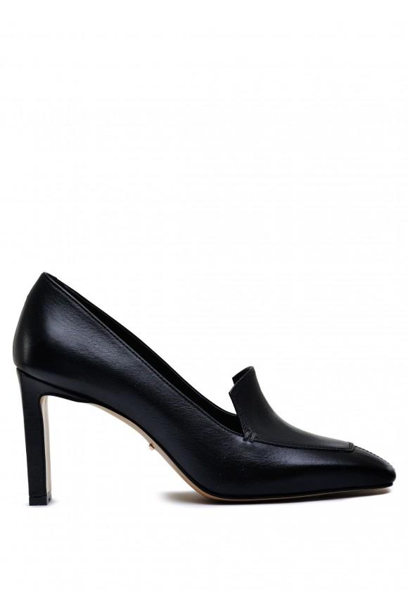 066001 Шкіряні туфлі з квадратним носом