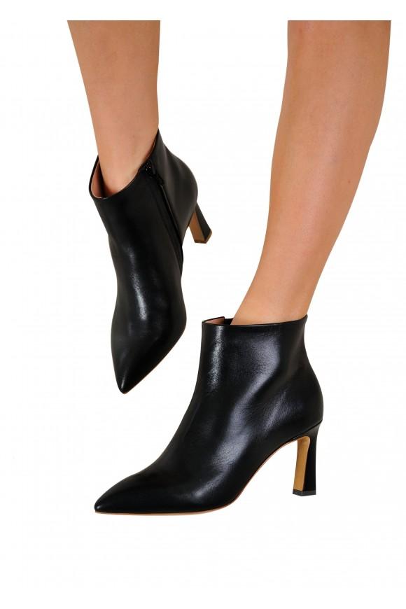 821503 Шкіряні черевики на середньому каблуці