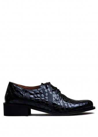 857011 Шкіряні туфлі низький хід