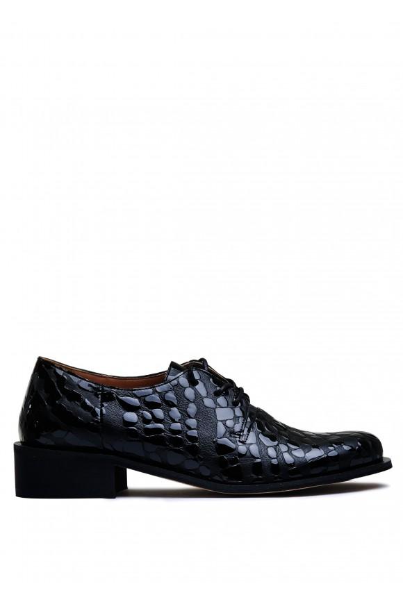 857011 Кожаные туфли низкий ход